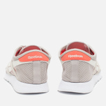 Женские кроссовки Reebok Classic Nylon See Through Sand Stone/Chalk/Atomic Red фото- 3