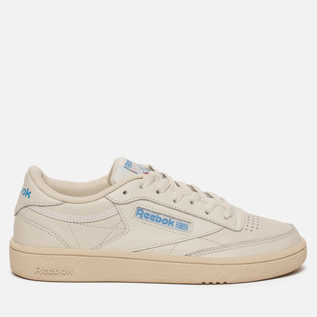 Женские кроссовки Reebok Club C 85 Chalk/Paper White/Blue
