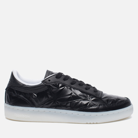 Женские кроссовки Reebok Club C 85 Hype Metallic Pack Black