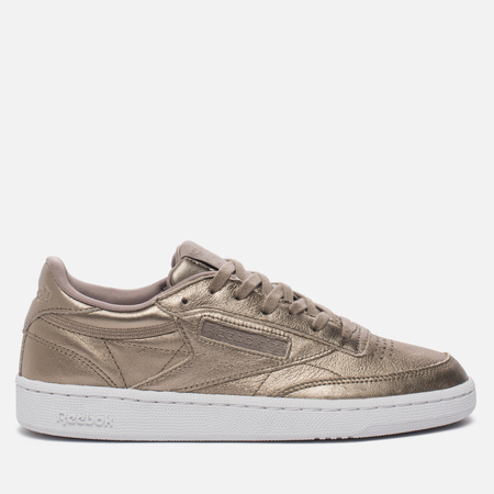 Женские кроссовки Reebok Club C 85 Leather Pearl Metallic/Grey Gold/White