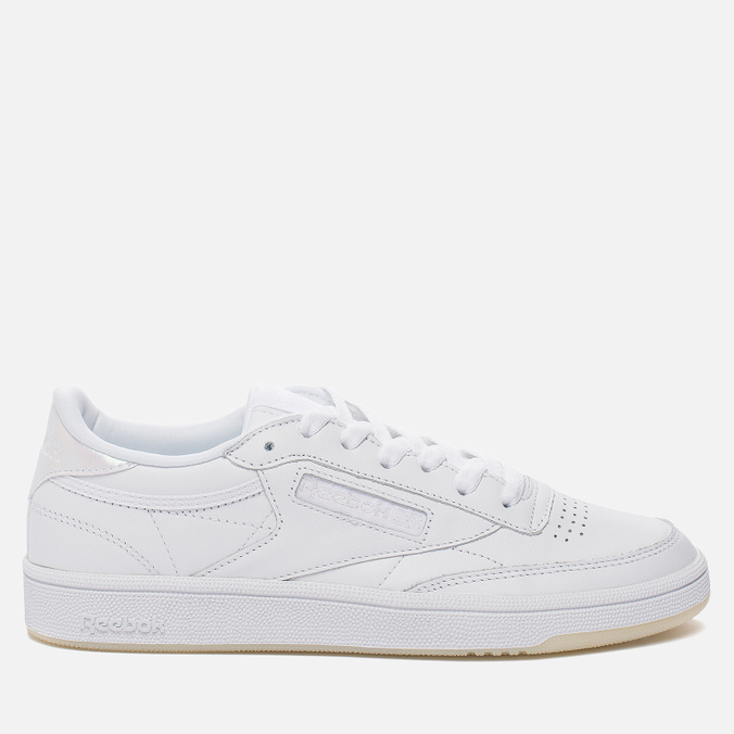 Женские кроссовки Reebok Club C 85 Leather Pearl-White/White/Ice