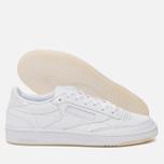Женские кроссовки Reebok Club C 85 Leather Pearl-White/White/Ice фото- 2