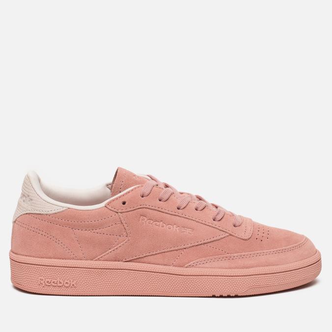 Женские кроссовки Reebok Club C 85 Nubuk Chalk Pink/Pale Pink