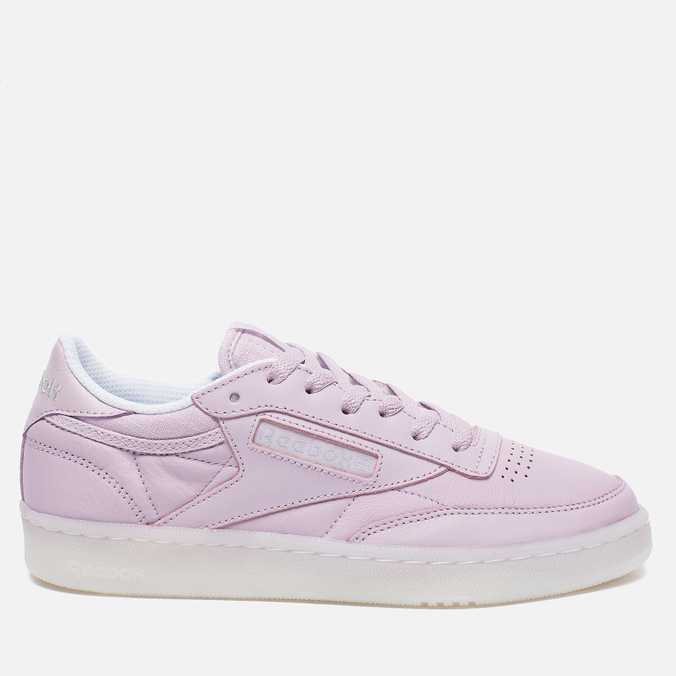 Женские кроссовки Reebok Club C 85 On The Court Shell Purple/White/Grey