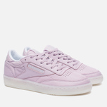 Женские кроссовки Reebok Club C 85 On The Court Shell Purple/White/Grey фото- 1
