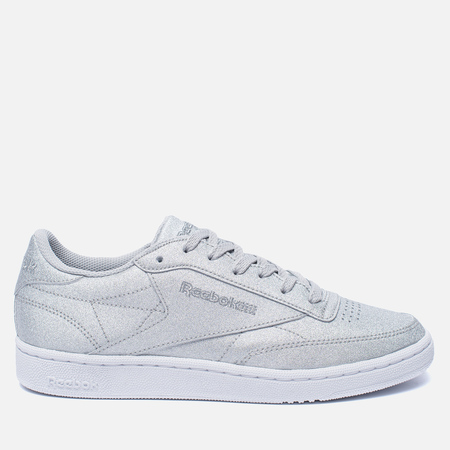 Женские кроссовки Reebok Club C 85 SYN Silver Metallic/Snow Grey/White