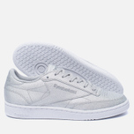 Женские кроссовки Reebok Club C 85 SYN Silver Metallic/Snow Grey/White фото- 2
