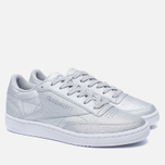 Женские кроссовки Reebok Club C 85 SYN Silver Metallic/Snow Grey/White фото- 1