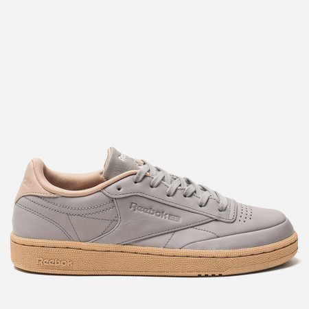 Женские кроссовки Reebok Club C 85 Tin Grey/Sahara/White