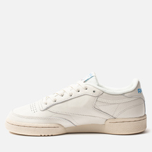 Женские кроссовки Reebok Club C 85 Vintage Chalk/Paperwhite/Athletic Blue/Excellent Red фото- 5