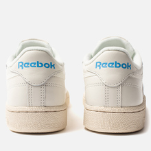 Женские кроссовки Reebok Club C 85 Vintage Chalk/Paperwhite/Athletic Blue/Excellent Red фото- 2