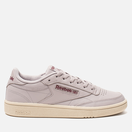 Женские кроссовки Reebok Club C 85 Vintage/Lavender Luck/Paper White/Rust Wine/Blue