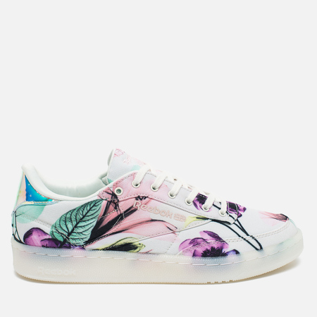 Reebok Club C 85 X-RAY Women's Sneakers Botanica White/Pink/Radiant