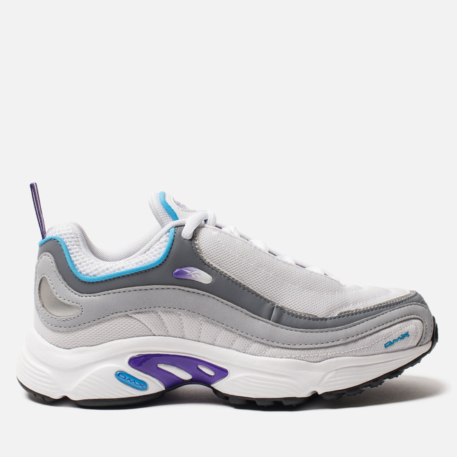 Женские кроссовки Reebok Daytona DMX White/Regal Purple/Bright Cyan