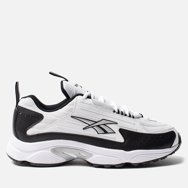 Женские кроссовки Reebok DMX Series 2K White/Black/Silver Metallic