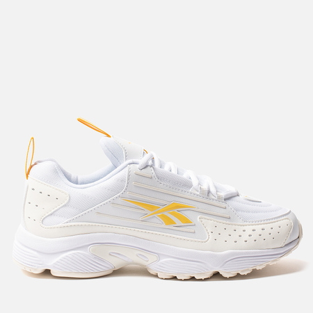 Женские кроссовки Reebok DMX Series 2K White/Chalk/Toxic Yellow