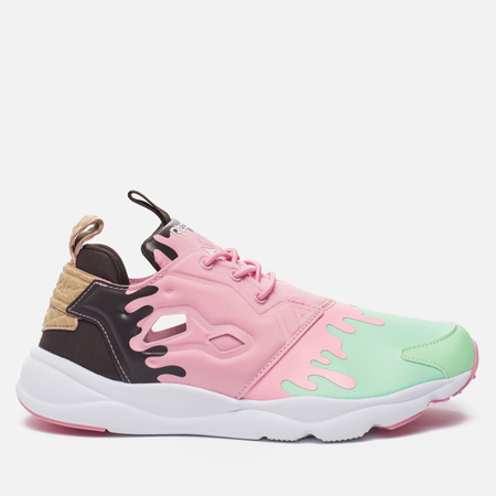 Женские кроссовки Reebok Furylite IC Mint Green/Light Pink/White/Dark Brown