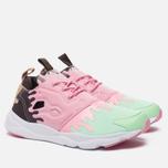 Женские кроссовки Reebok Furylite IC Mint Green/Light Pink/White/Dark Brown фото- 1