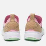 Женские кроссовки Reebok Furylite Slip-On IC Mint Green/Light Pink/White/Dark Brown фото- 3