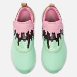 Женские кроссовки Reebok Furylite Slip-On IC Mint Green/Light Pink/White/Dark Brown фото- 4