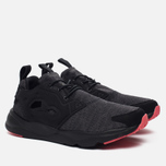 Женские кроссовки Reebok Furylite Sole Black/Gravel/Fire Coral фото- 1