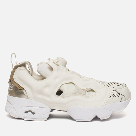 Женские кроссовки Reebok Instapump Fury Cuto Chalk/Flint Grey Metallic