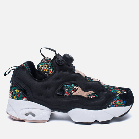 Женские кроссовки Reebok Instapump Fury GT Black/White/Dusty Pin