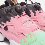 Женские кроссовки Reebok Instapump Fury IC Mint Green/Light Pink/Dark Brown/White/Cafe фото- 5