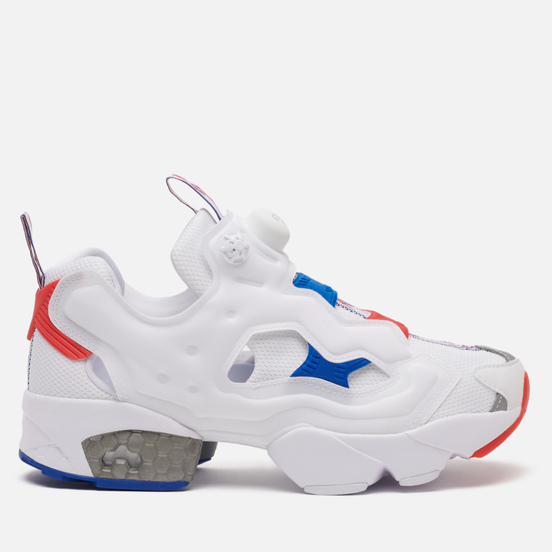 Женские кроссовки Reebok Instapump Fury OG White/Radiant Red/Humble Blue