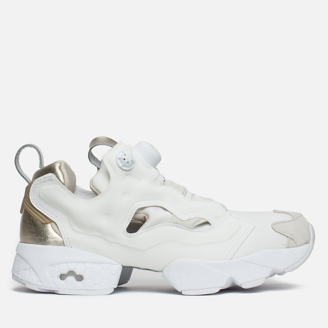 Женские кроссовки Reebok Instapump Fury PM Chalk/White/Gold
