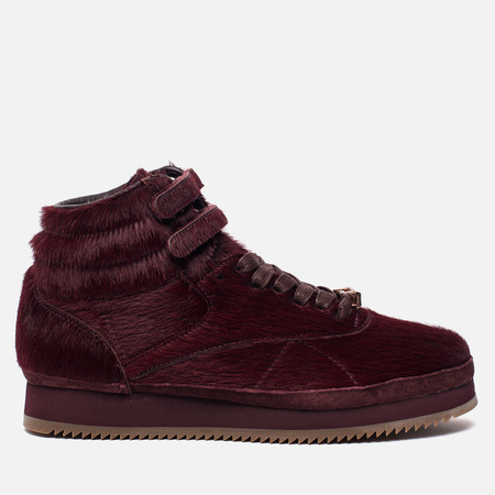 Женские кроссовки Reebok x Amber Rose Freestyle High Vibram Muva Fuka Merlot/Rose Gold