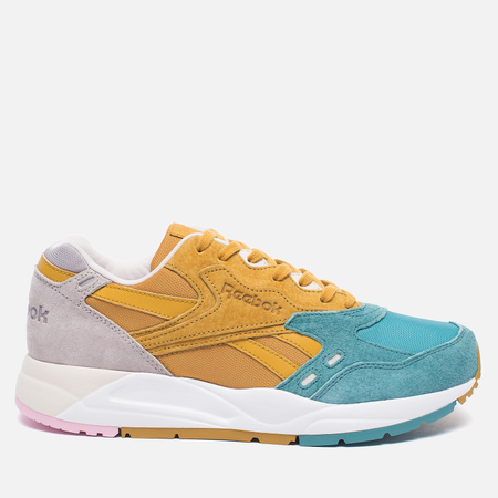 Женские кроссовки Reebok x Face Bolton Yellow/Blue/Grey