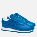 Женские кроссовки Reebok x Face Stockholm Classic Leather Dramatic/Clarity/Wonder фото- 2