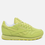 Reebok x Face Stockholm Classic Leather Spirit Women's Sneakers Authentic/White/Energy photo- 0