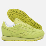 Reebok x Face Stockholm Classic Leather Spirit Women's Sneakers Authentic/White/Energy photo- 2