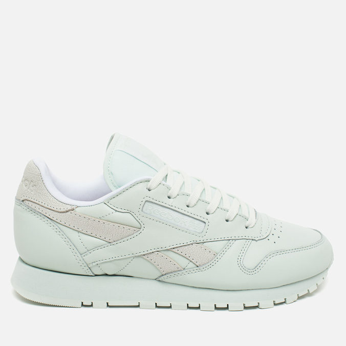 Женские кроссовки Reebok x Face Stockholm Classic Leather Spirit Philosophy/White/Energy
