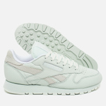 Женские кроссовки Reebok x Face Stockholm Classic Leather Spirit Philosophy/White/Energy фото- 2
