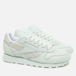 Женские кроссовки Reebok x Face Stockholm Classic Leather Spirit Philosophy/White/Energy фото- 1