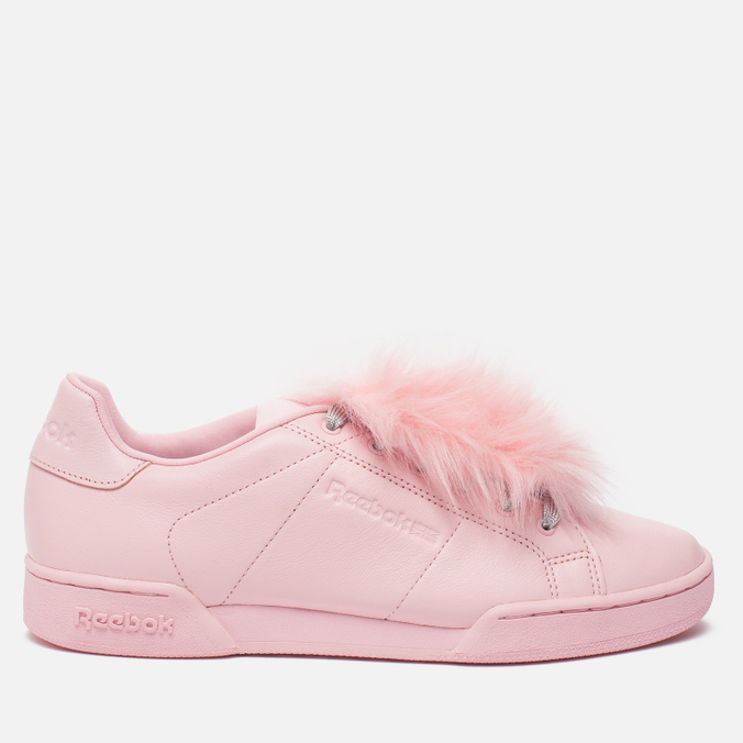 Женские кроссовки Reebok x Local Heroes NPC II NE Polished Pink/White/Purple/Blue