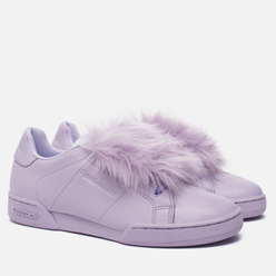 Женские кроссовки Reebok x Local Heroes NPC II NE Purple Oasys/White/Pink/Blue