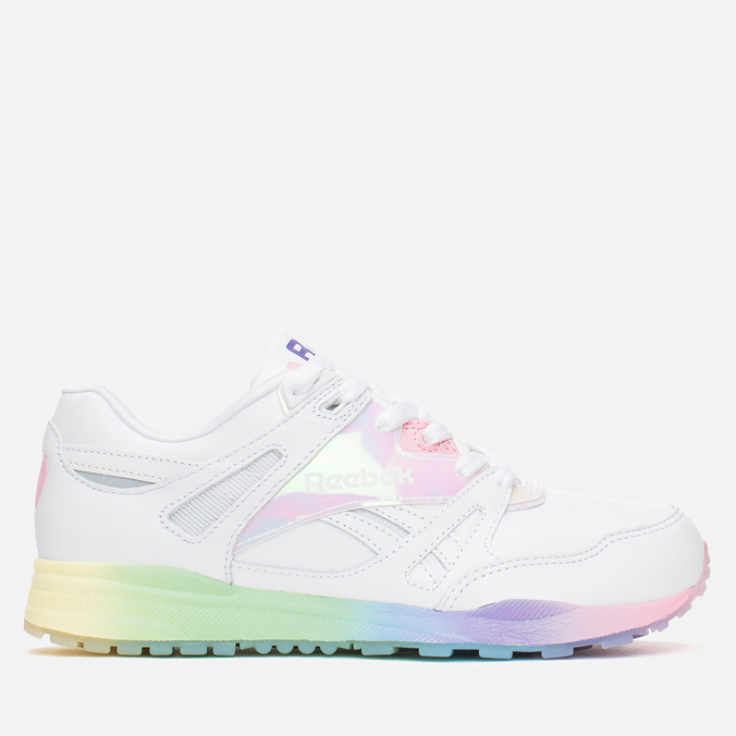 Женские кроссовки Reebok x Local Heroes Ventilator Areta White/Pink/Purple/Blue/Yellow