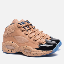 Женские кроссовки Reebok x Melody Ehsani Question Mid British Tan/Blue Ice
