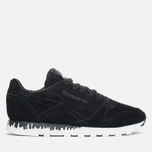 Женские кроссовки Reebok x Naked Classic Leather Drip Black/White фото- 0