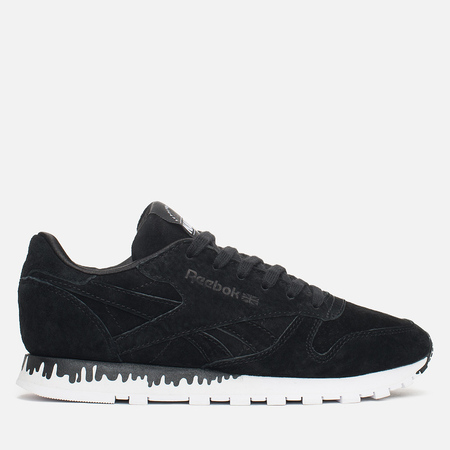 Reebok x Naked Classic Leather Drip Women's Sneakers Black/White