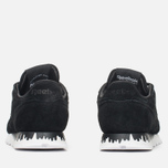 Женские кроссовки Reebok x Naked Classic Leather Drip Black/White фото- 3