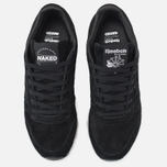 Женские кроссовки Reebok x Naked Classic Leather Drip Black/White фото- 4