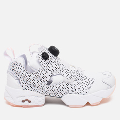 Женские кроссовки Reebok x Naked Instapump Fury SC Dynasty Pack White