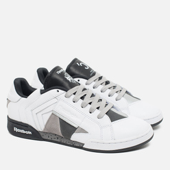 Женские кроссовки Reebok x Orka Collective NPC II White/Black/Grey