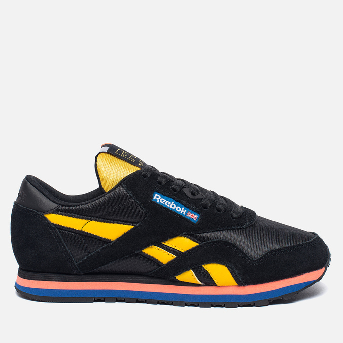 Женские кроссовки Reebok x P.E Nation Classic Nylon Black/Yellow/Fluro/White