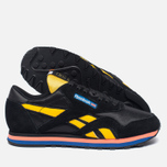 Женские кроссовки Reebok x P.E Nation Classic Nylon Black/Yellow/Fluro/White фото- 1